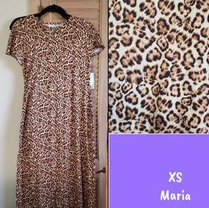 LuLaRoe Leopard Maria